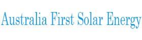 Australia First Solar Energy