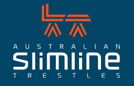Australian Slim Line Trestles
