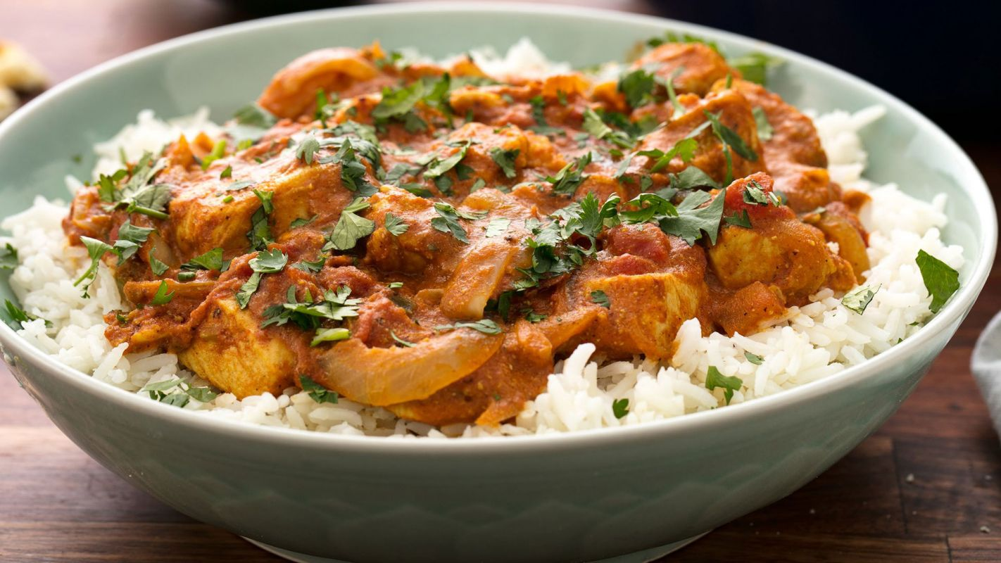 Butter Chicken With Rice Capalaba QLD